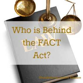 The big businesses behind the FACT Act